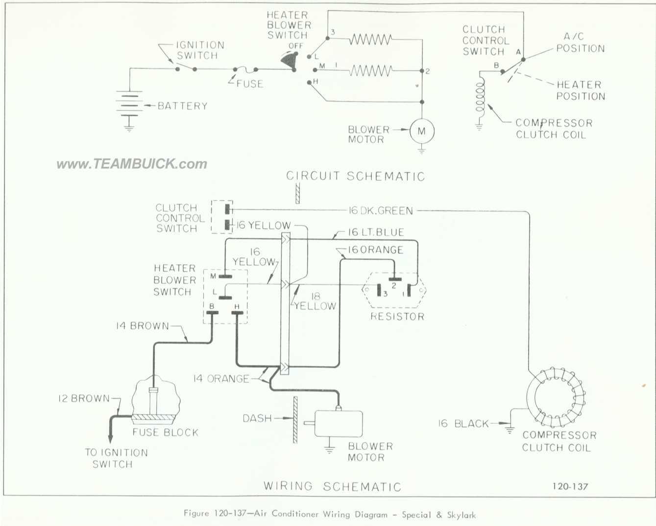 air conditioner wiring diagram picture