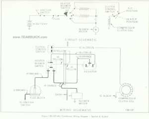 1966 Buick Special, Skylark, Air Conditioner Wiring Diagram