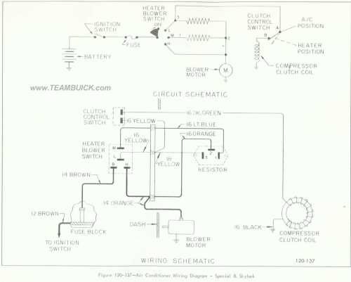 small resolution of 1966 buick special skylark air conditioner wiring diagram 1972 skylark 1964 skylark