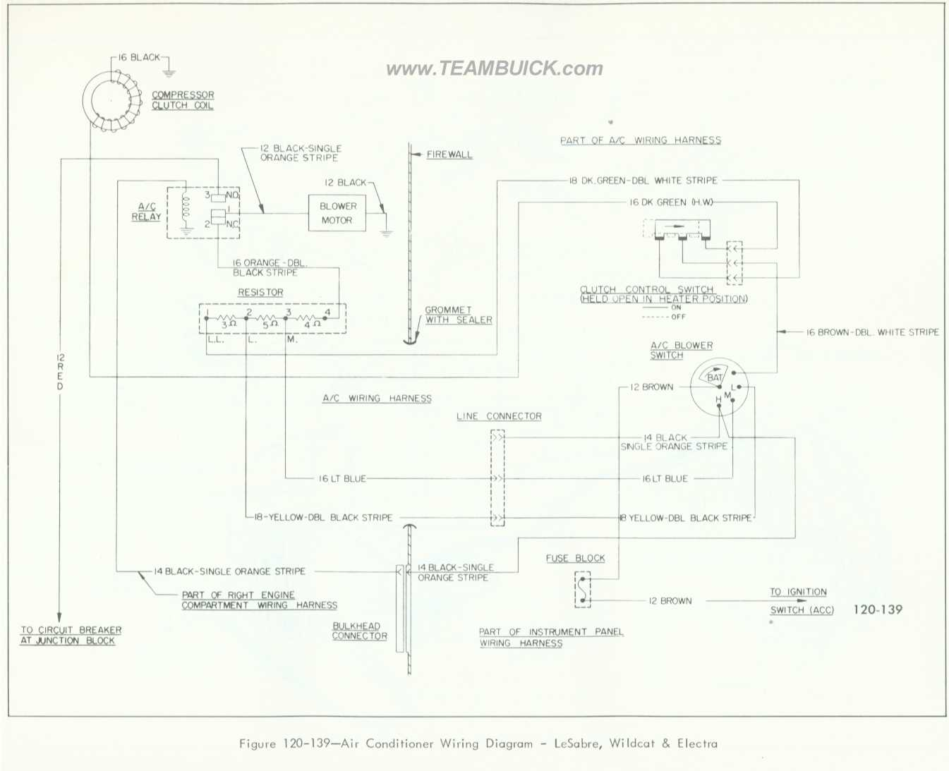 Wire Harness For 1966 Lesabre Custom : 36 Wiring Diagram