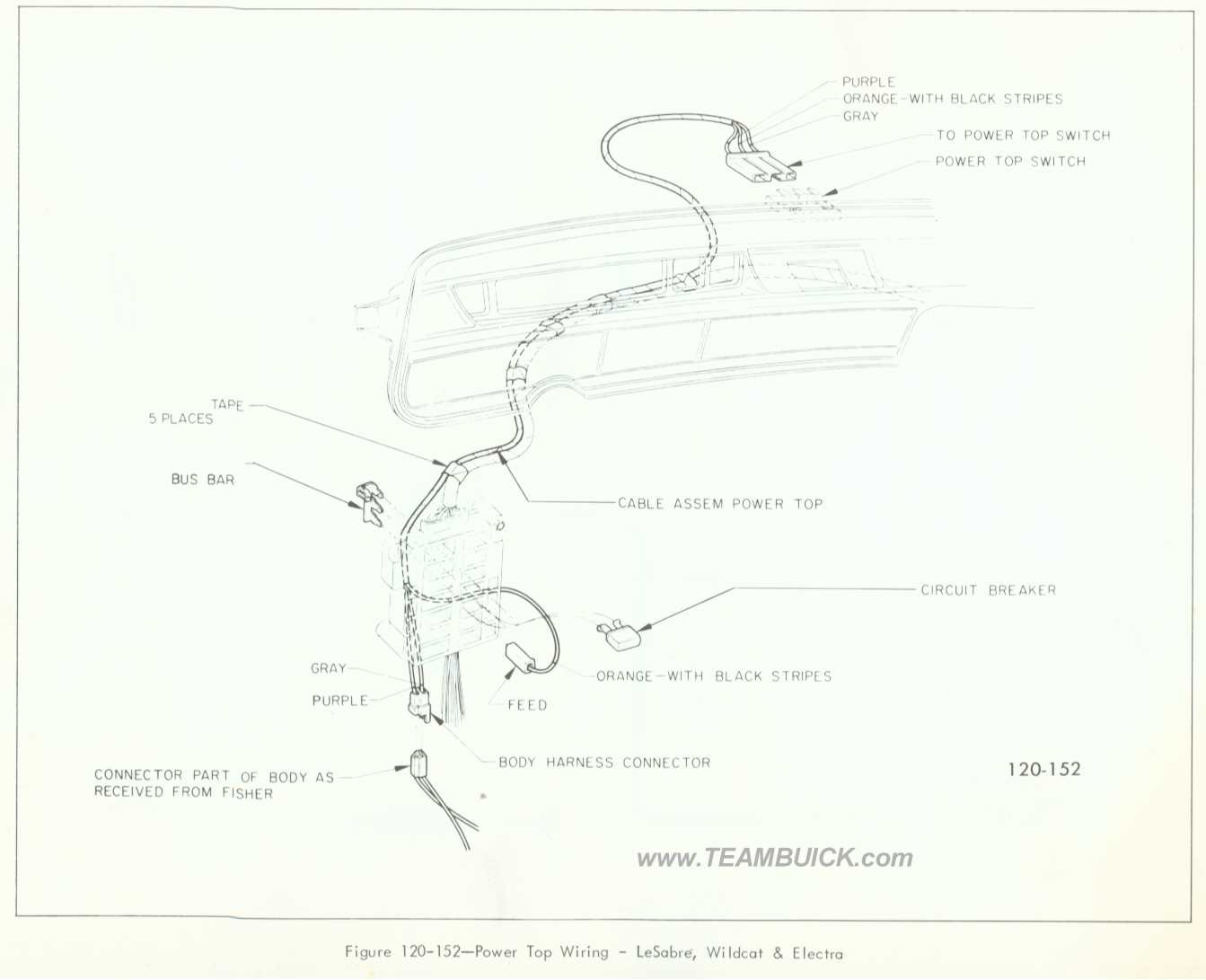 1966 buick wildcat wiring diagram context scope lesabre electra power top