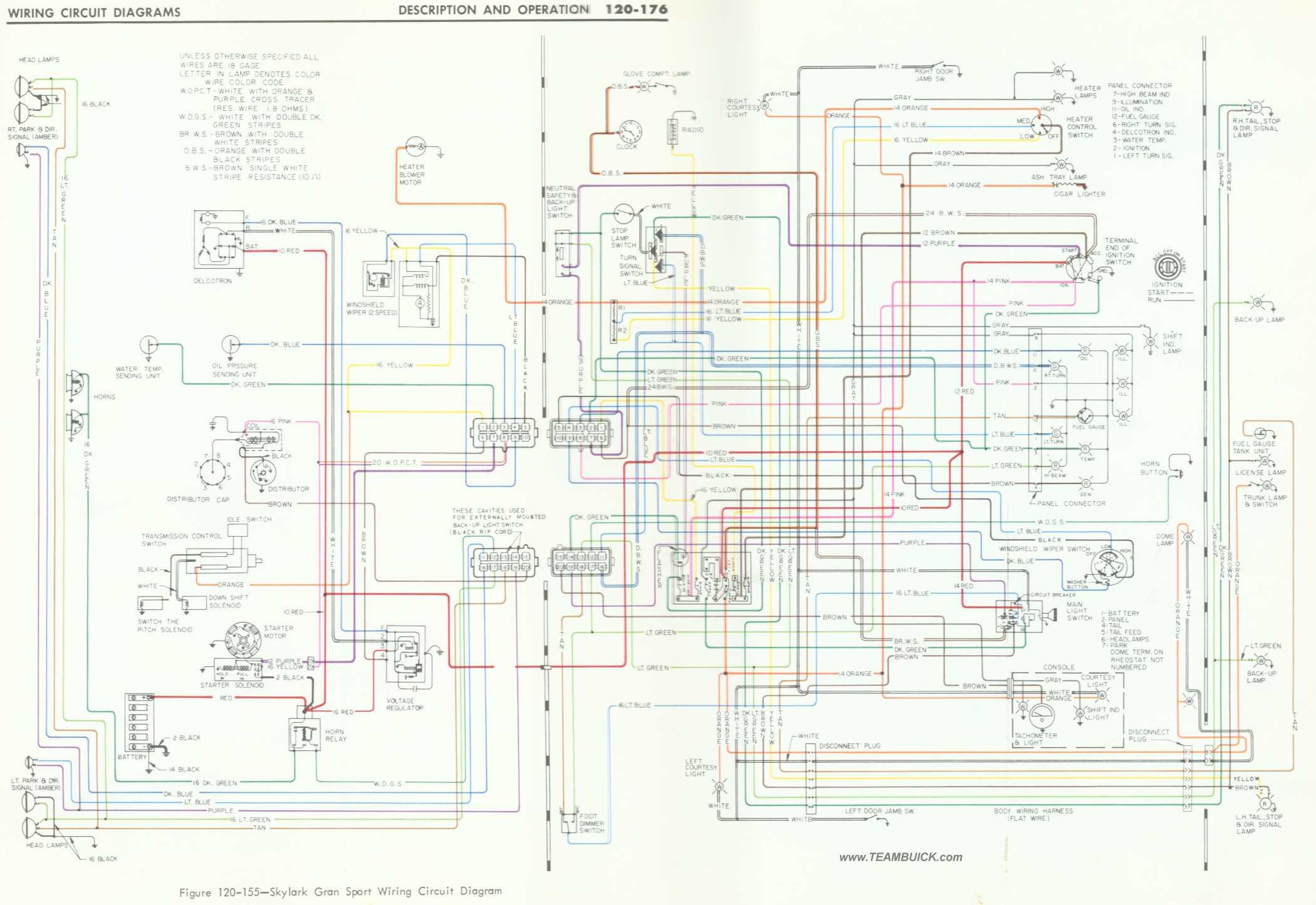 Buick Skylark Gs Wiring Diagram