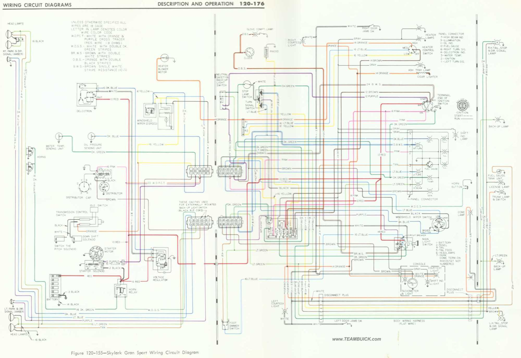 hight resolution of 1966 buick skylark gs wiring diagram right click to save to your computer