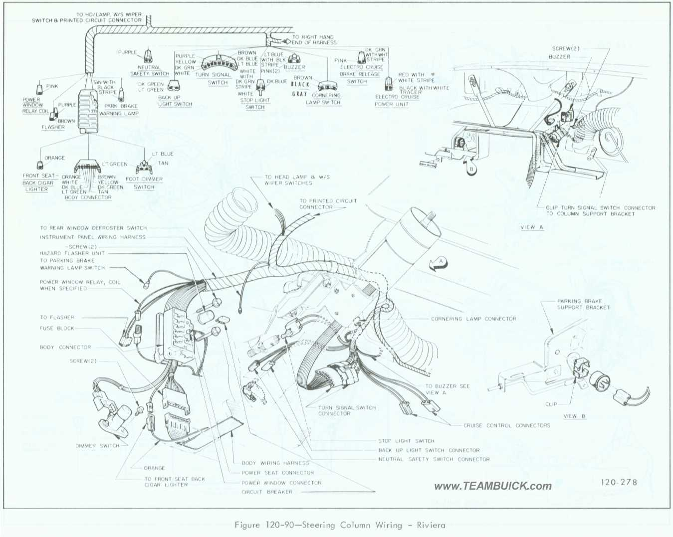 1995 Buick Riviera Wiring Diagram Flasher Not Working