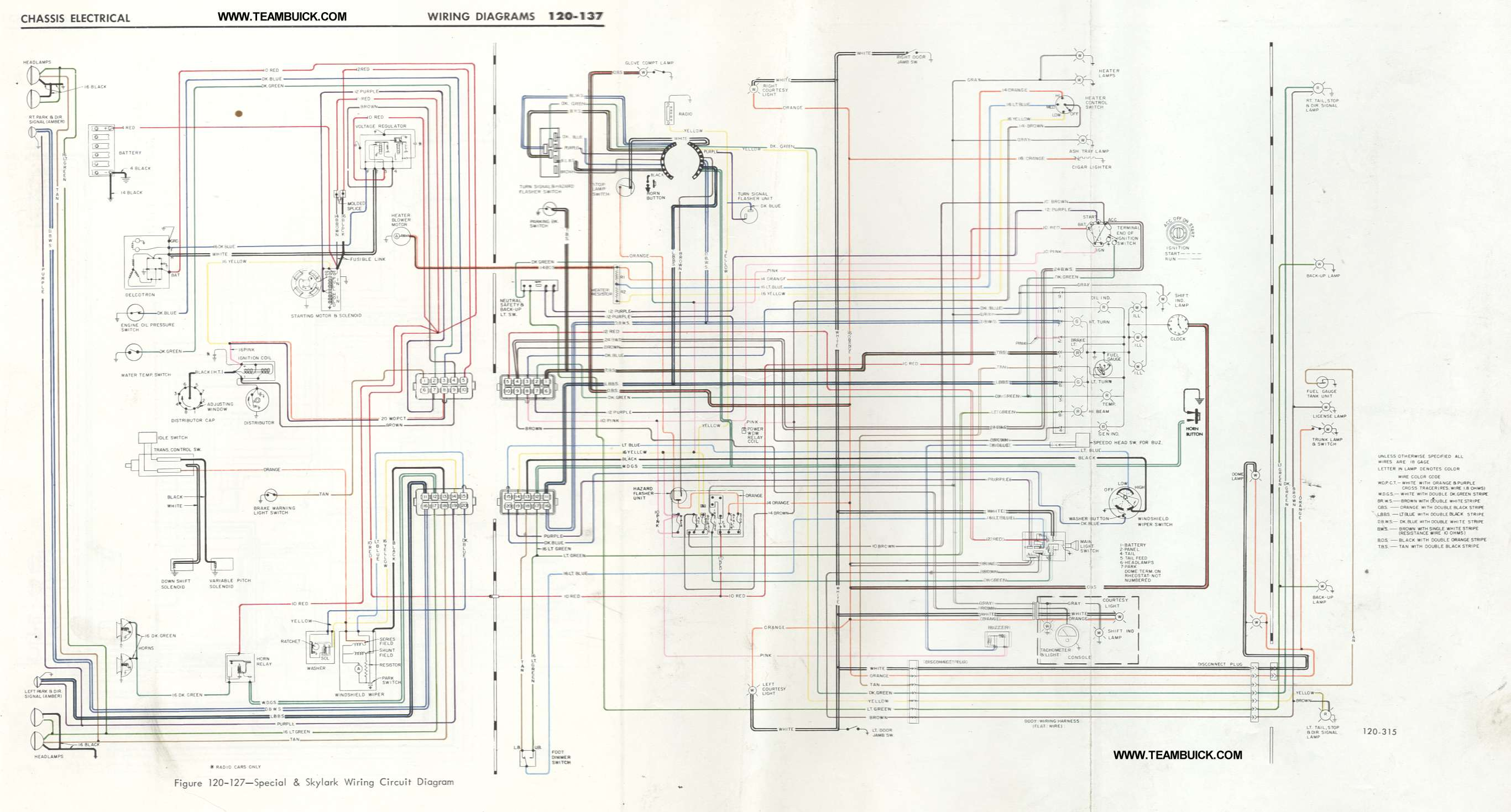 1967 buick special wiring diagram 1965 buick skylark ignition 1967 Pontiac Tempest Wiring Diagram right click to save to your computer 1967 buick special skylark gs400 wiring diagram