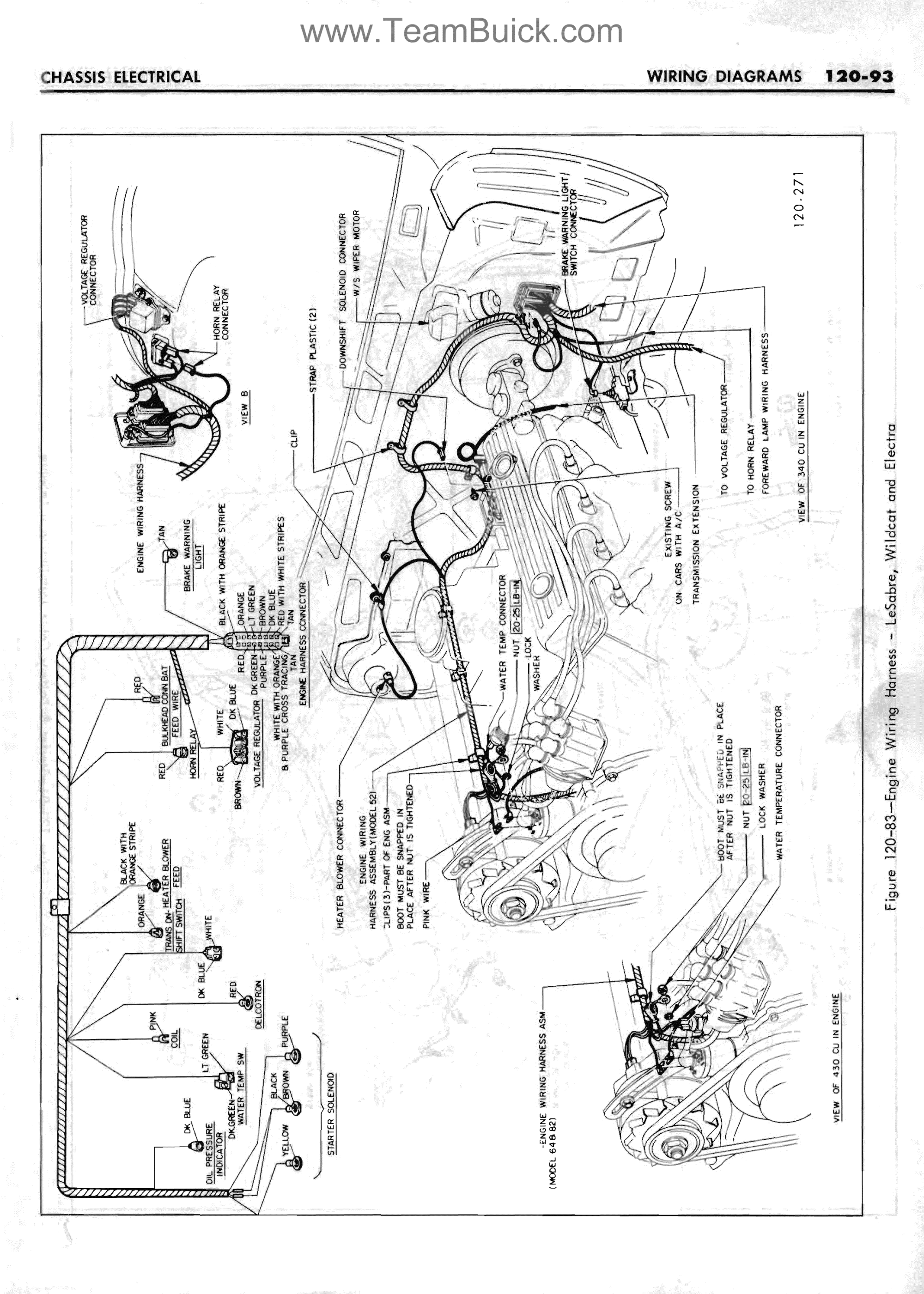 hight resolution of 1967 buick lesabre wildcat electra engine wiring harness rh teambuick com buick rendezvous wiring harness problems 1967 buick riviera wiring harness