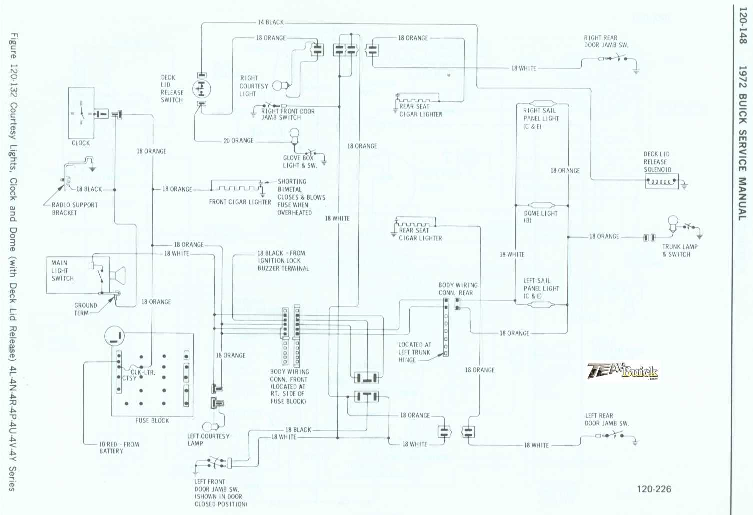 ***1966 Buick Wildcat and Electra wiring diagram***