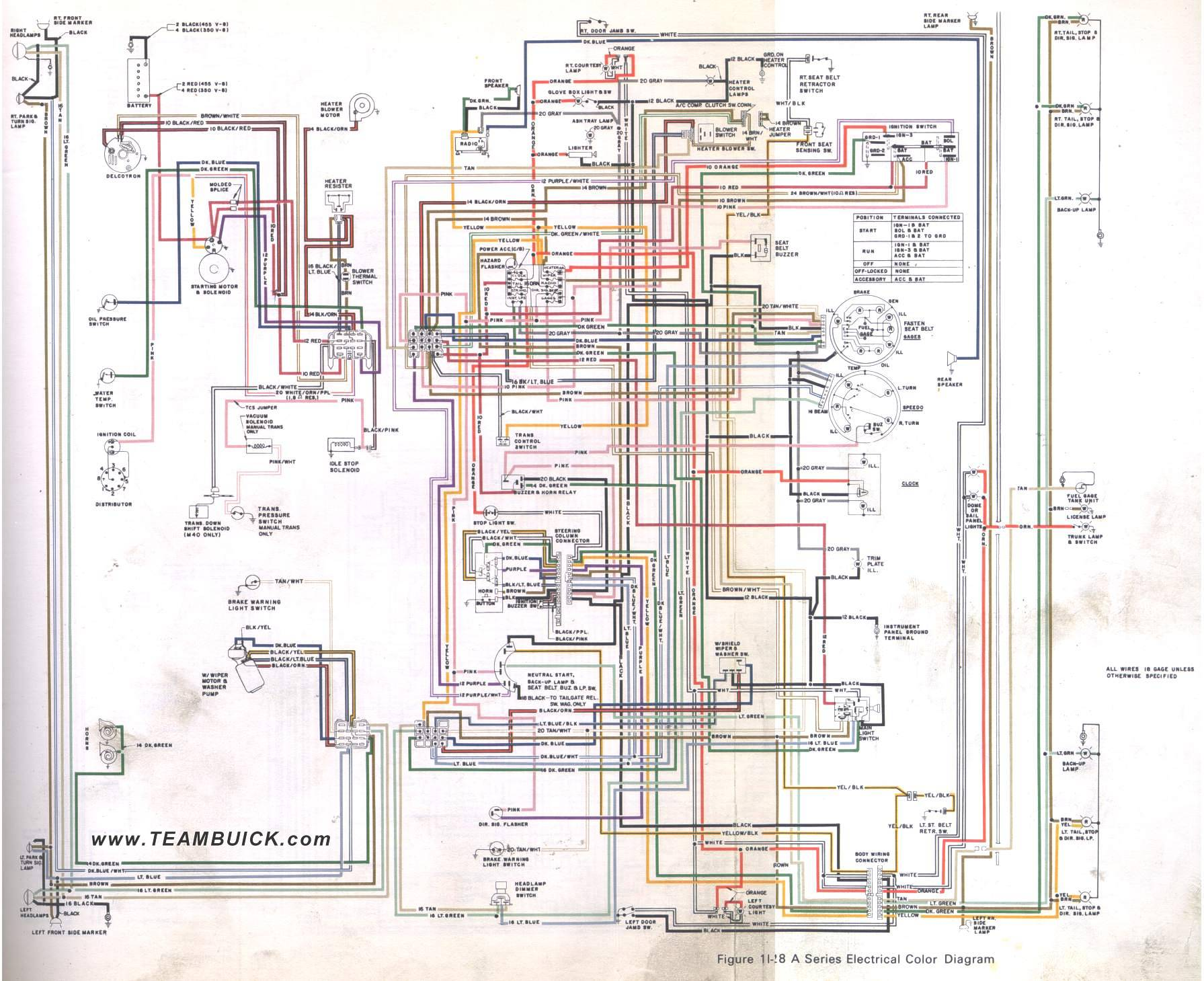 hight resolution of 1973 buick a series wiring diagram