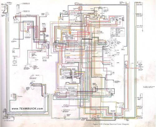 small resolution of 1973 buick a series wiring diagram