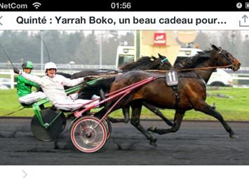 Yarrah Bokos andre strake triumf i Prix de Belgique er et faktum, kusk Pierre Vercruysse kunne knapt fått en bedre bursdagspresang!