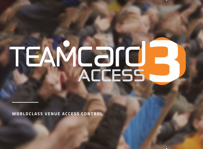 Teamcard Access 3 - World class venue access control