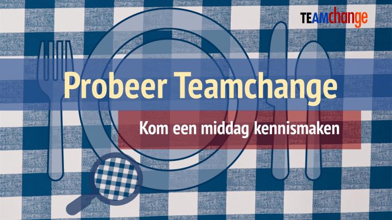 Teamchange Probeer Teamchange Sessies