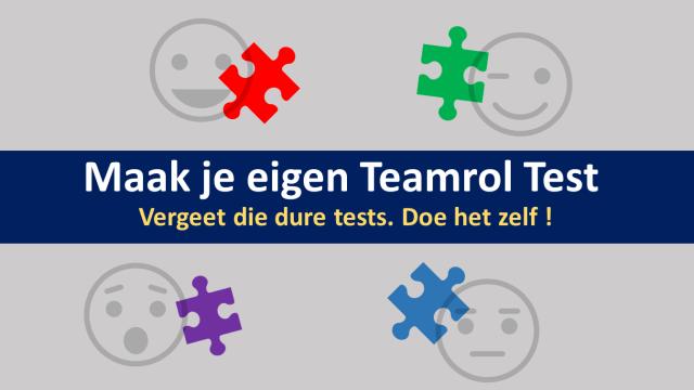 teamrollen test kun je zelf maken