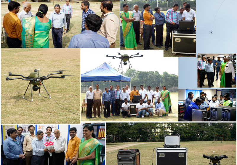 BEL Team Visited | Tethered Drone | Team Dhaksha