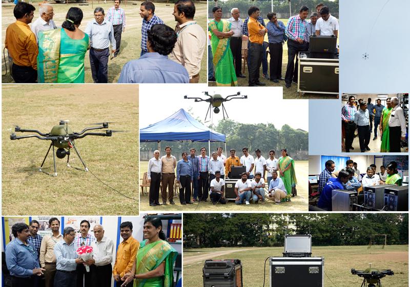 BEL Team Visited   Tethered Drone   Team Dhaksha