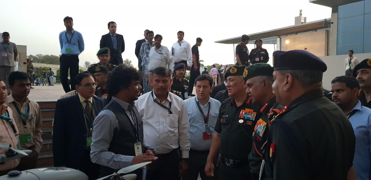 Team Dhaksha   Commanders Conference - 2019   New Delhi