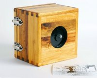 Ikea pinhole camera