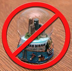 No snow globes