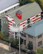 Striped house makes neighbors see red