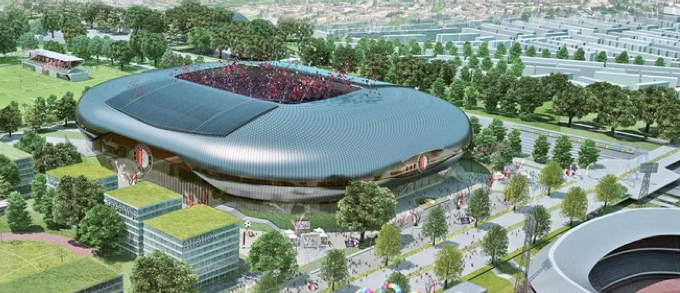 New Feyenoord Stadium