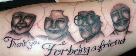 awful Golden Girls tattoos from TeamJimmyJoe.com