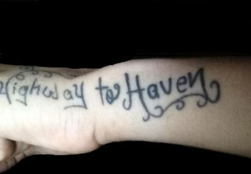 misspelled tattoos highway to heaven worst tattoos, bad tattoos funny tattoos ugliest tattoos worst family photos funny stupid people creepy nasty horrible wtf epic fails