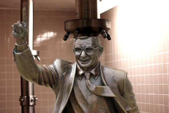 What should be done with the Joe Paterno Statue? Where is it Now? What happened to the Joe Paterno Statue. pictures of The Joe Pa statue