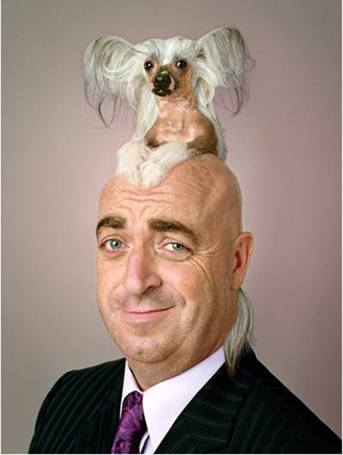 dog hair, dog on head, Funny Haircuts, Bad Hair styles, worst hair, fashion fails, Funny pictures,