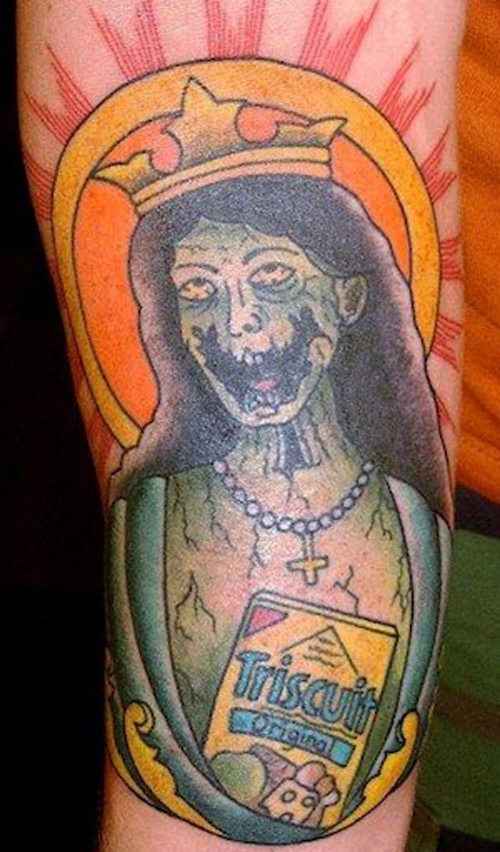 triscuits zombie queen Worst Tattoos funny bad tattoos stupid tattoos ugliest tattoos horrible terrible awful funny pictures