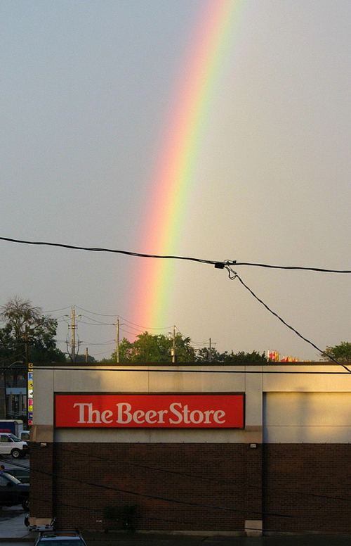 Funny pictures, rainbow and beer store, beer at the end of the rainbow, funny signs funny pictures funny people worst family photos bad family awkward family photos random humor college humor photobombs weird people worst bad tattoos strange that's what she said wtf epic fails crazy people strange bizarre people of walmart