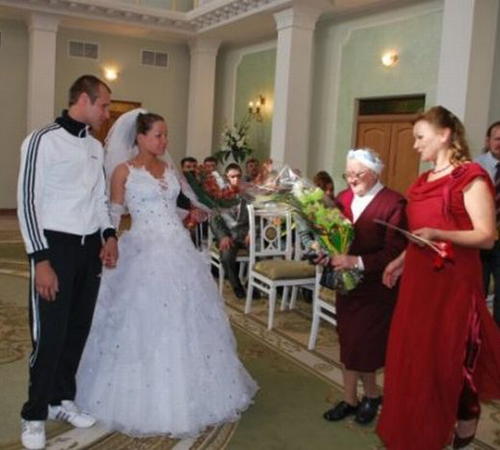 Funny Ugly Wedding Dresses: Funny Wedding Pictures: 15 Wacky & Weird WTFs!
