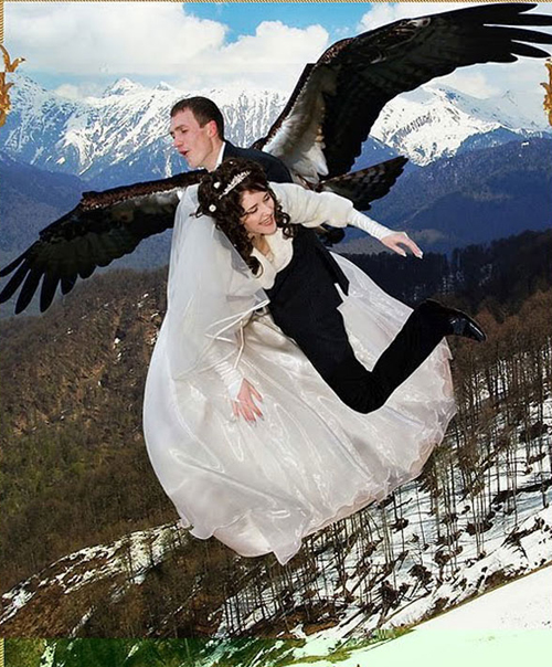 Funny Wedding Gowns: Funny Wedding Pictures: 13 More Of The Bad & Strange