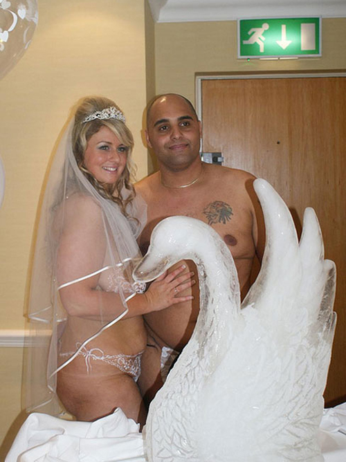 Assured, that nudist wedding pics for that