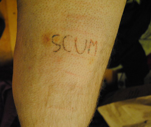 Scum regrettable bad tattoos terrible awful ugliest tattoos wtf ugly horrible tattoos funny tattoos awkward family america's worst tattoos photos crazy people weird stupid redneck humor