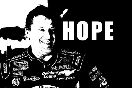 Funny Pictures of Tony Stewart Hope NASCAR Spring All Star Race Charlotte Motor Speedway funny nascar driver photos funny pictures victory lane winner last season 2013 2012