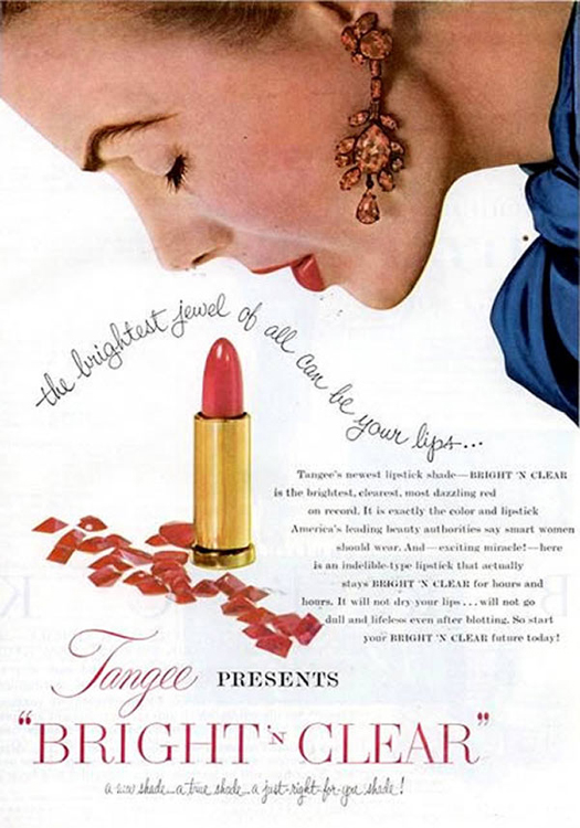 Bright n Clear Lipstick phallic ~ The most sexists advertising ~