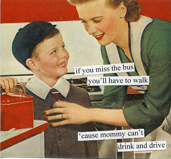 Bus ~~ 1950s Housewife Memes