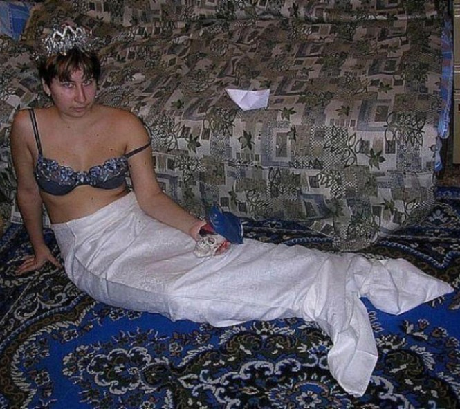 Mermaid ~ 34 Failed Attempts at Looking Sexy