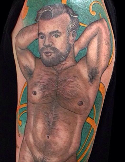 Naked Man Bad Tattoos America's Worst Tattoos Regrettable Horrible Awkward Stupid People Regrets Misspelled Nasty Tats WTF Funny