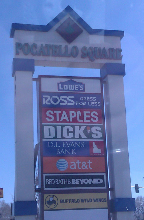 Ross Staples Dick's - Funny Signs