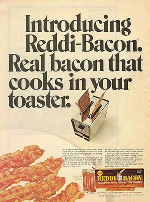 Bacon Toaster – Strange Weird Vintage Products & Ads