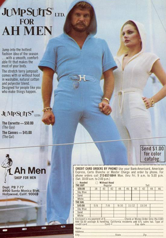 Ah Men ~ 35 Bitchin' 70s Mens Fashions