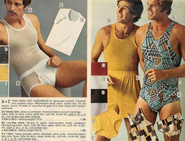 Hip Undies ~ 35 Bitchin' 70s Mens Fashions