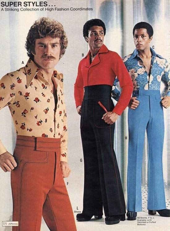 Super Styles from JC Penny ~ 35 Bitchin' 70s Mens Fashions