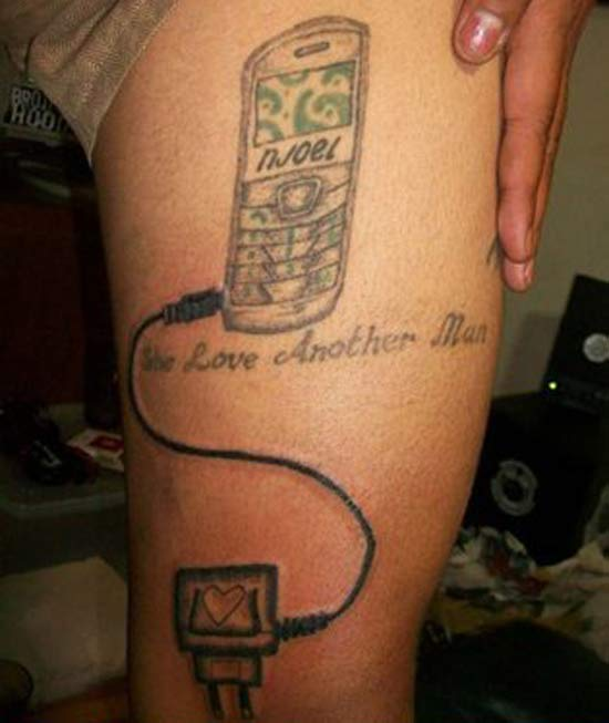 She love ~~ 15 More of the Worst Tattoos