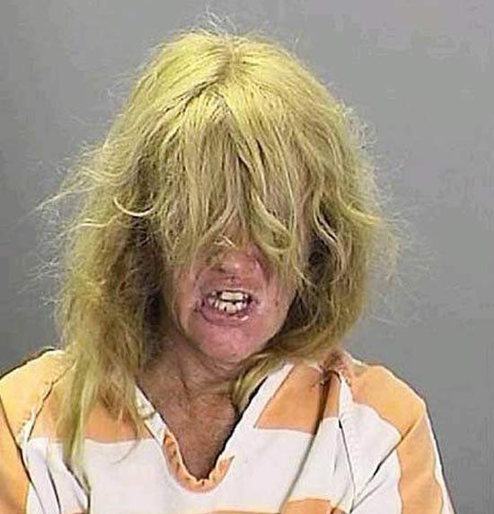 Cousin It ~ 27 of the Funniest Mugshots Ever!