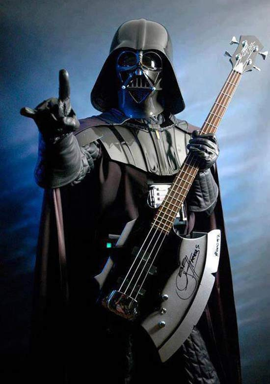 Rock on, Darth ~ 16 Funny Pics, Memes & Such