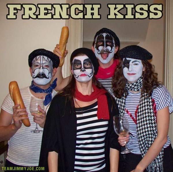 French Kiss ~ 16 Funny Pics & Memes