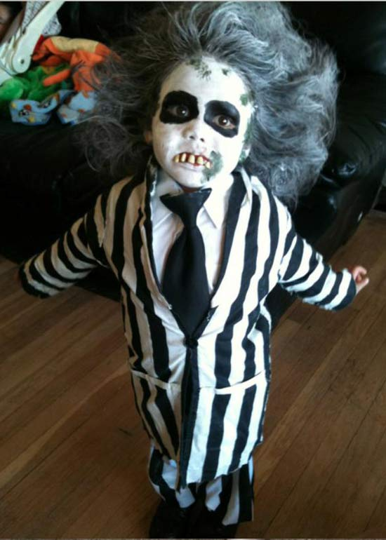 Beetlejuice ~ 30 of the Best Kids Halloween Costumes