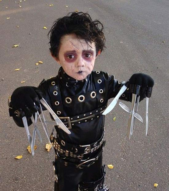Edward Scissorhands ~ 30 Great Halloween Costumes for Kids